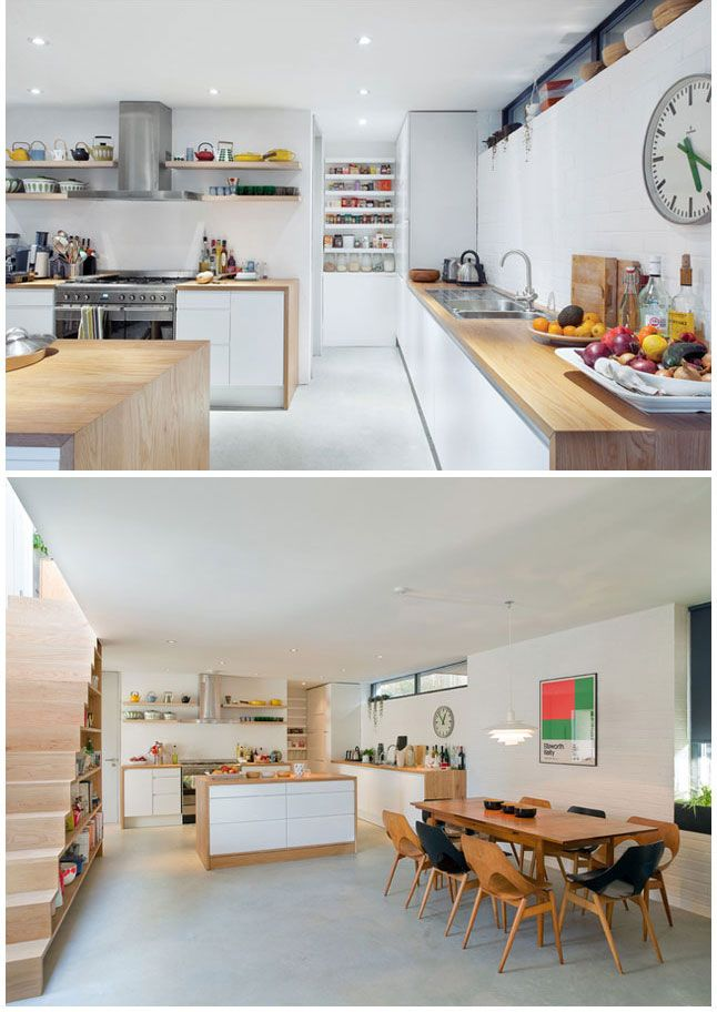 Mid Century Modern Dining | Private house in England by interior designer Kathryn Tyler.