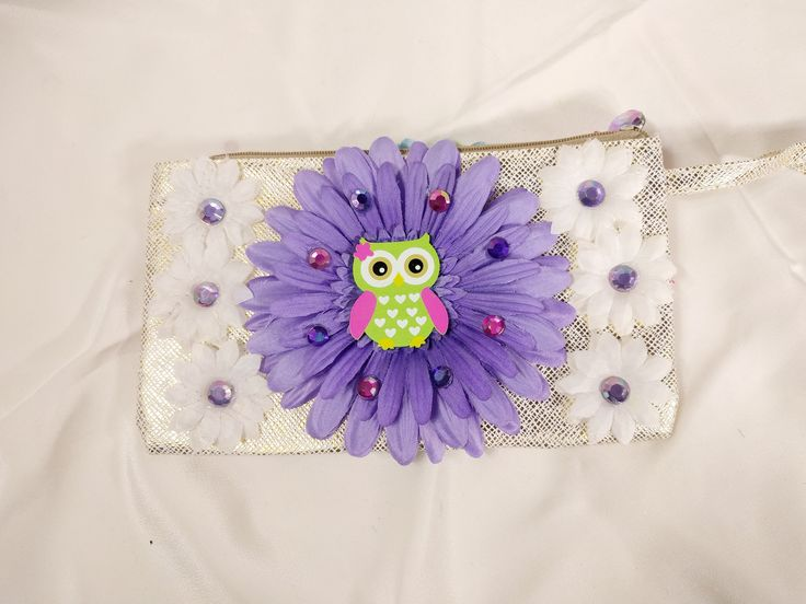 Excited to share the latest addition to my #etsy shop: EDC Daisy Owl Handbag • EDM • Costume • Outfit • Rave • Purse • Kids • Festival • Flower • 2