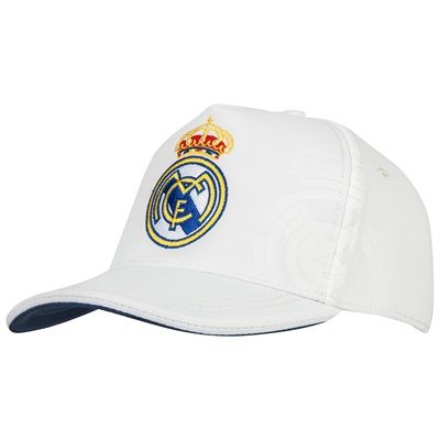 Real Madrid Crest Cap - Grey - Kids: Real Madrid Crest Cap - Grey - Kids #RealMadridShop #RealMadridStore
