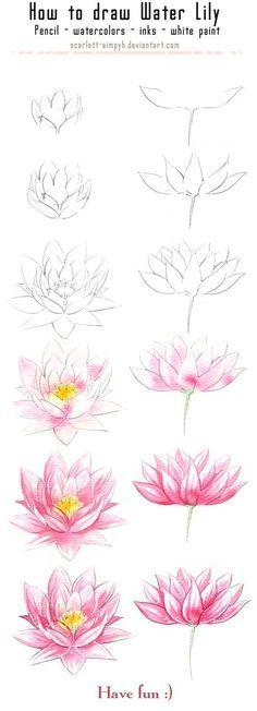Comment dessiner une fleur: