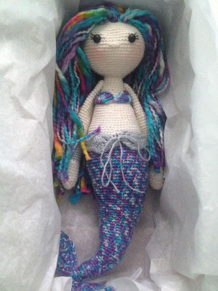 MICI the mermaid made by Elizabeth C. / crochet pattern by lalylala