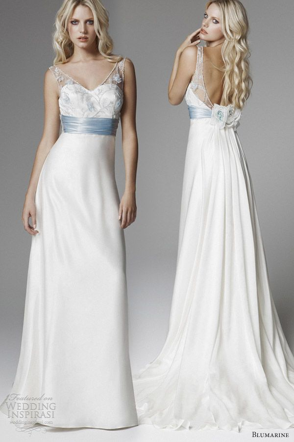 Best 25  Light blue wedding dress ideas on Pinterest