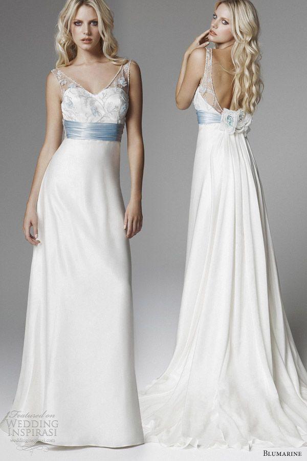 1000  ideas about Light Blue Wedding Dress on Pinterest - Colored ...
