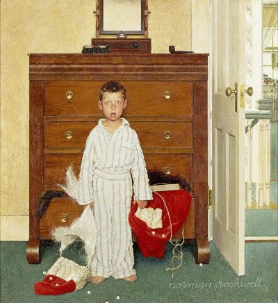 The Discovery by Norman Rockwell, Dec. 29, 1956
