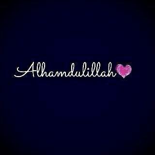 #Alhamduilah