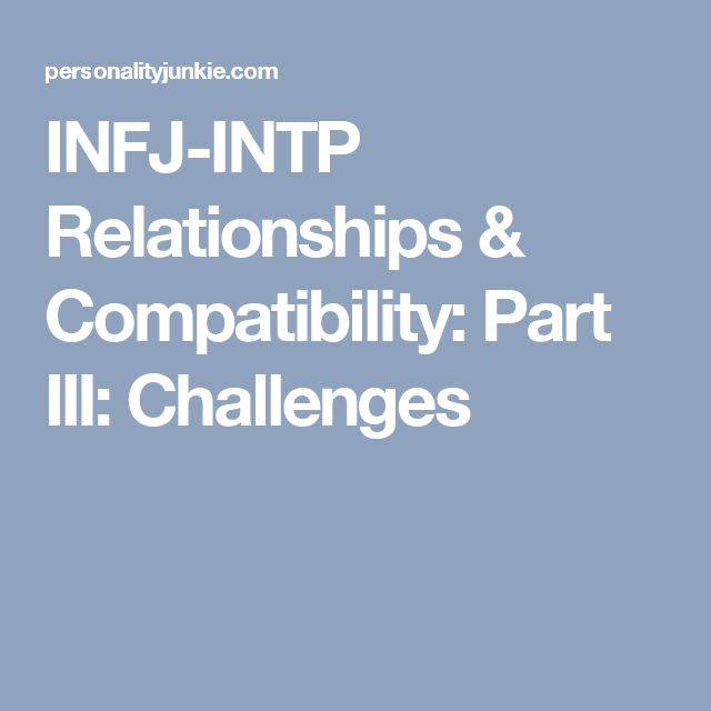 enfp and infj dating challenges