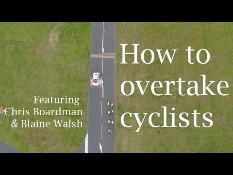 How to overtake cyclists – the video all drivers should watch | Environment | The Guardian
