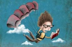 Nora Thompson's Reading in the Air