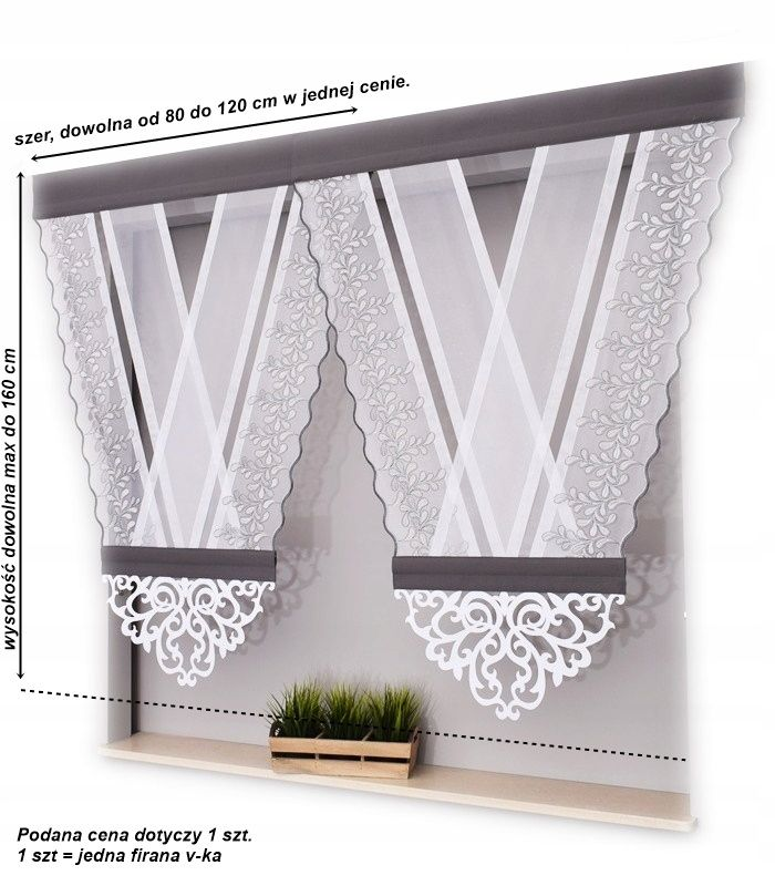V Ka Z Azurem Vki Panele Piekna Bez Prasowania Hf Curtain Decor Curtains And Pelmets Curtain Designs