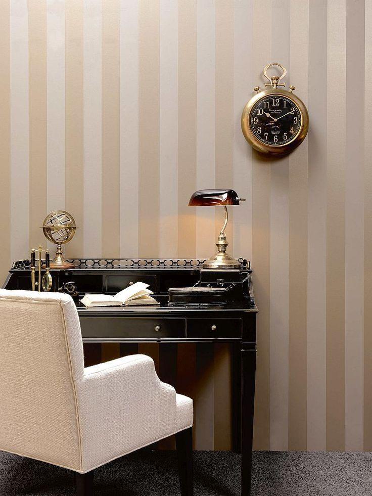 Rasch Textil Bistro Tapete Vlies Streifen Creme Beige 326110   Kaufen Bei  Ta Bo Lifestyle