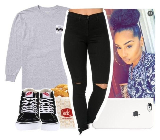 """""""today cuz it's rainy bad"""" by aribearie ❤ liked on Polyvore featuring Billabong and Vans"""