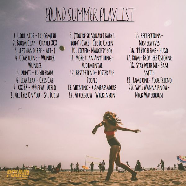 Lookin' for new music?! We've got the PERFECT summer playlist! #breakout #newmusic #onrepeat