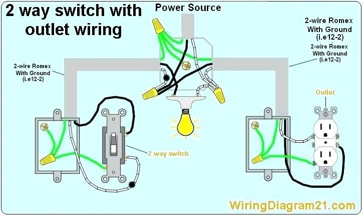 Wiring A Light Switch From A Receptacle With Images Light