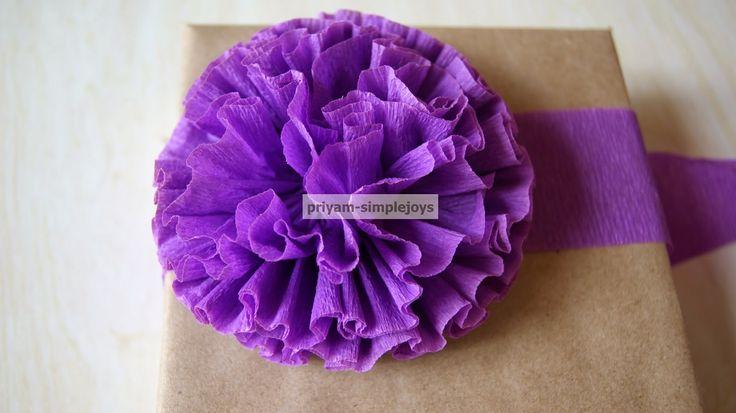 SimpleJoys: Crepe Paper Flowers.