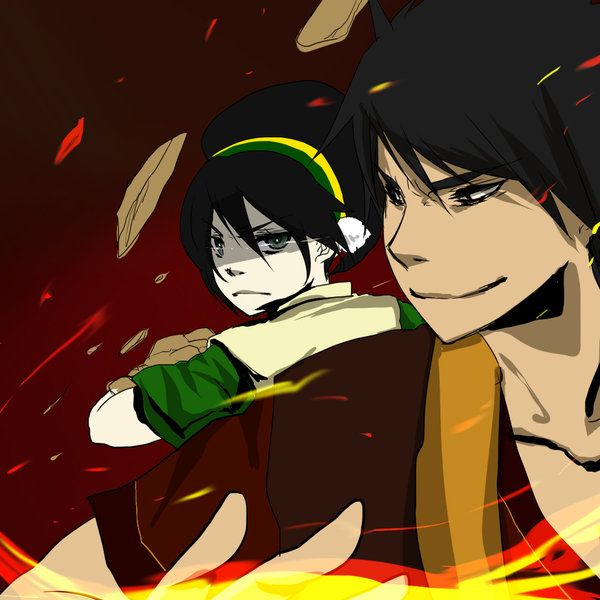 Avatar 2 Road: 43 Best Images About Zuko + Toph On Pinterest