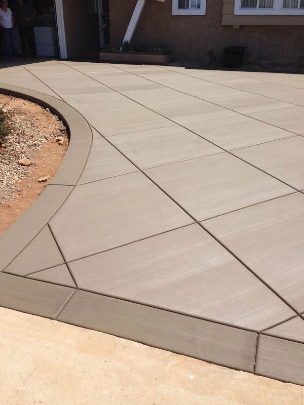 Stamped Concrete Patterns Design Ideas Don T Ignore The Walls