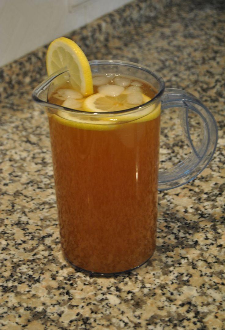 Ice-Tea de Limão Caseiro