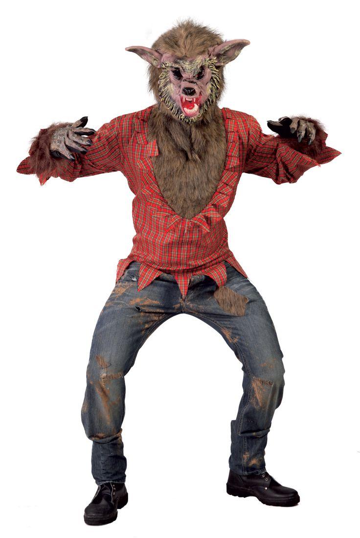 Verkleed je als een grote boze wolf tijdens carnaval of Halloween in dit mooie kostuum van Vegaoo.nl!