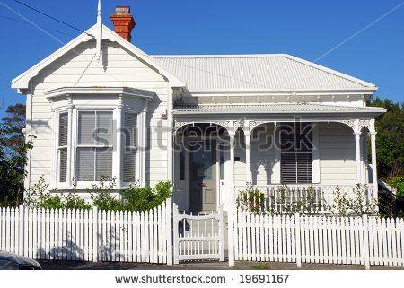 stock photo : Colonial Villa in New Zealand