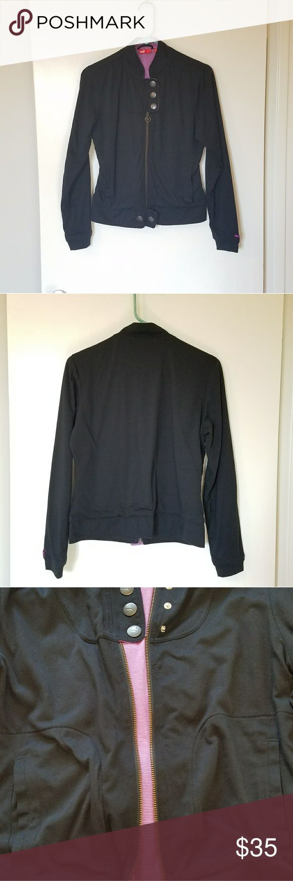 I just added this listing on Poshmark: Puma black purple work out jacket M. #shopmycloset #poshmark #fashion #shopping #style #forsale #Puma #Jackets & Blazers