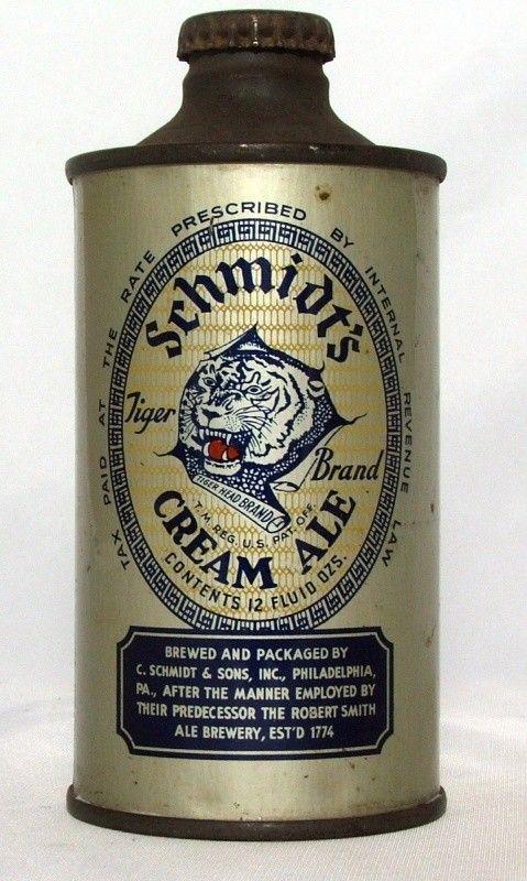 Schmidt's Cream Ale - Steel Canvas