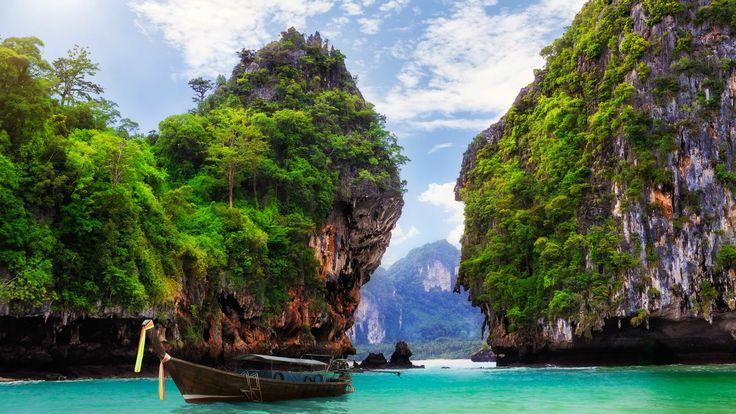 АО Нанг, Краби, Таиланд  #travel #travelgidclub #путешествия #traveling #traveler #beautiful #instatravel #tourism #tourist #туризм #природа #Таиланд #Thailand #Краби