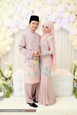 Fallin For You: Wed Preps : Design Baju Akad Nikah Nina