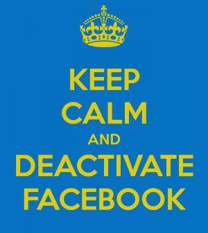How To Deactivate #Facebook (Temporarily & Forever): http://socialmediaimpact.com/deactivate-facebook-temporarily-forever-facebook/