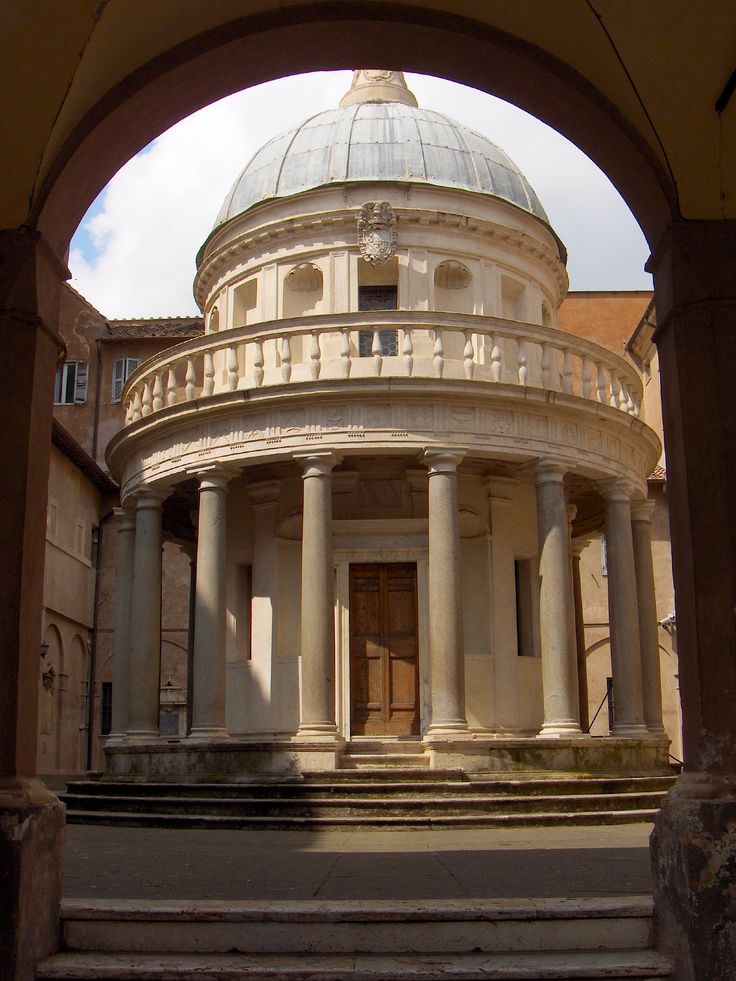 34 best donato bramante images on pinterest renaissance for Architecture renaissance