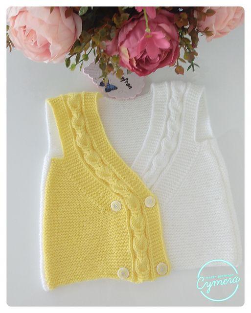 Ravelry: safran's Ece baby vest
