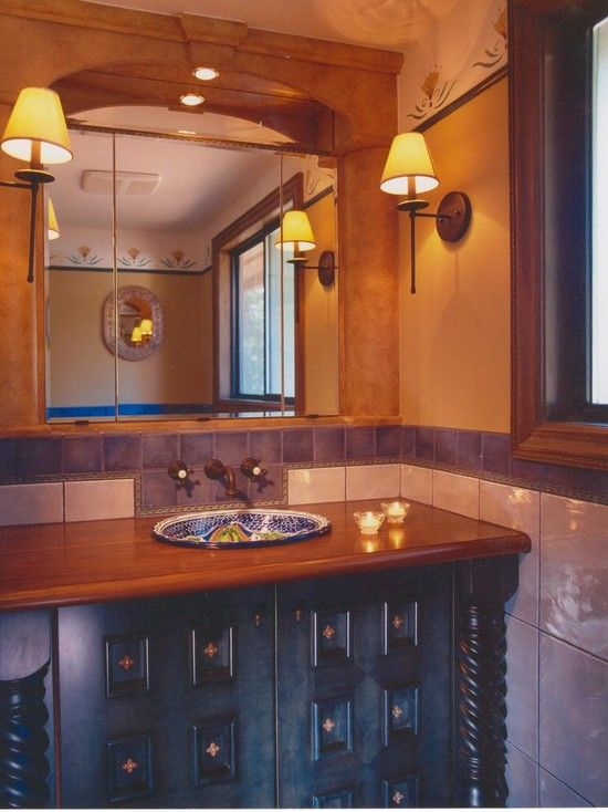 Mexican Bathroom Design, Pictures, Remodel, Decor And Ideas   Page 2