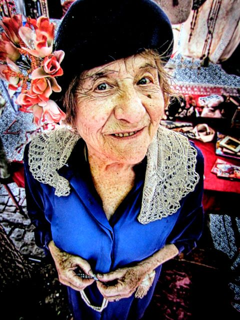Day 110: The Old Woman of San Telmo market, Buenos Aires (Argentina)