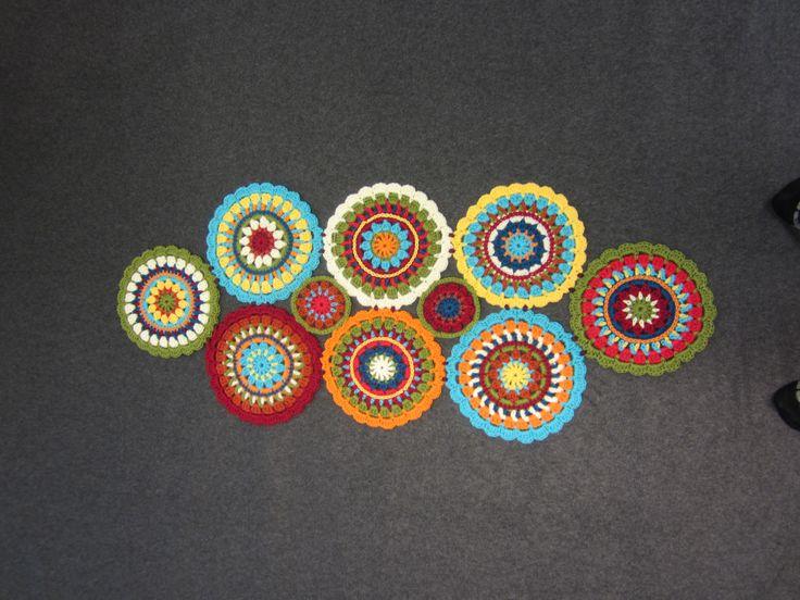 Virkattu tekstiili