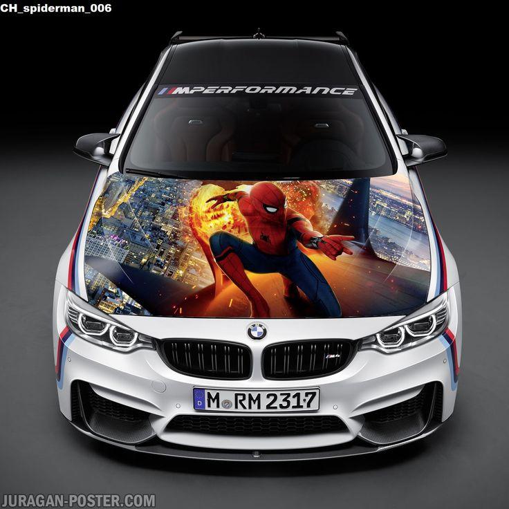 stiker kap mesin mobil Gambar Spiderman kekinian  #stikermobil #stikerkapmesinmobil #stikerkeren #stikerdecalmobil #stiker