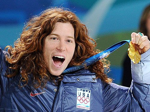 In honor of my favorite Flying Tomato, for his perfect 100 last night in the X Games, Shaun White.