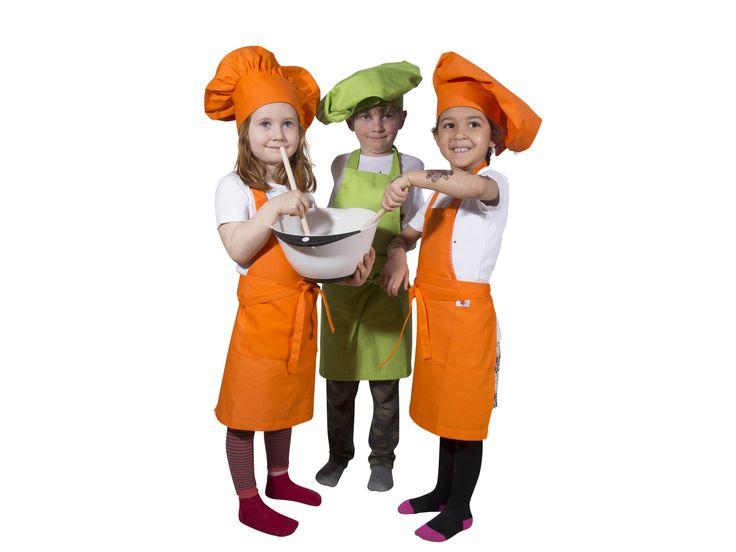 Forklæder til børn og junior. Se mere på www.kitchen4kids.dk