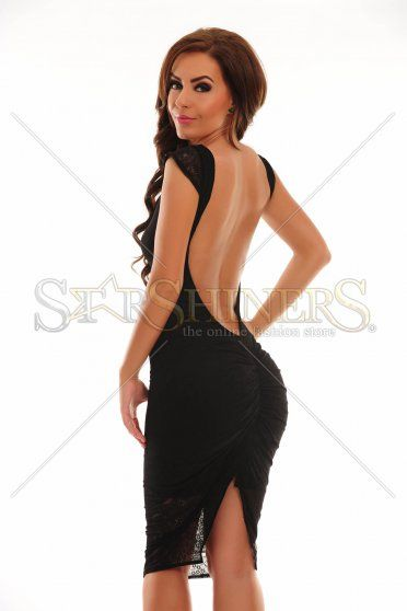 PrettyGirl Charming Style Black Dress