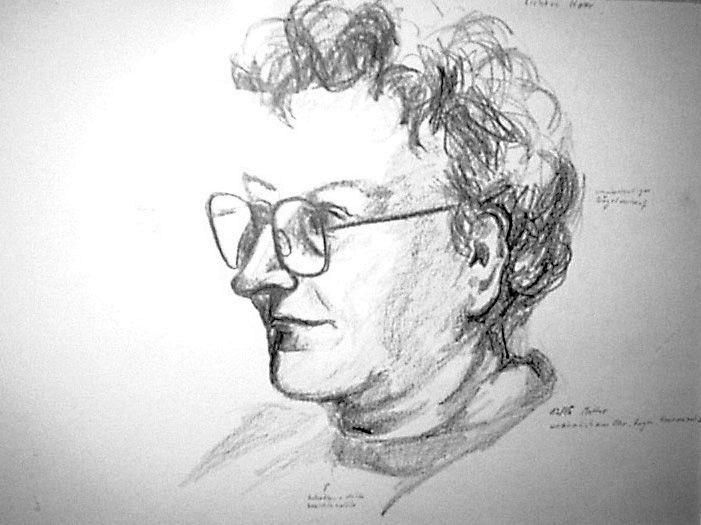 Mutti Skizze 8 by Jens H. Westermann, #art #artist #drawing #Kunst #Künstler #Zeichnung #Westermann