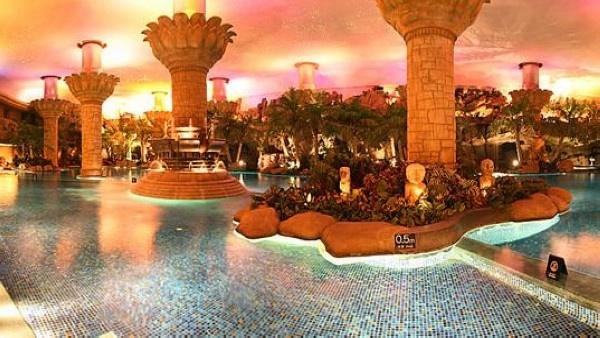 Grand Hyatt, Beijing, China - prettiest indoor pool I've ever been in