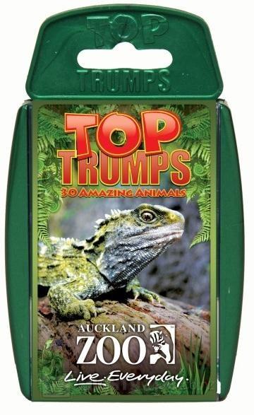 Top Trumps - Auckland Zoo
