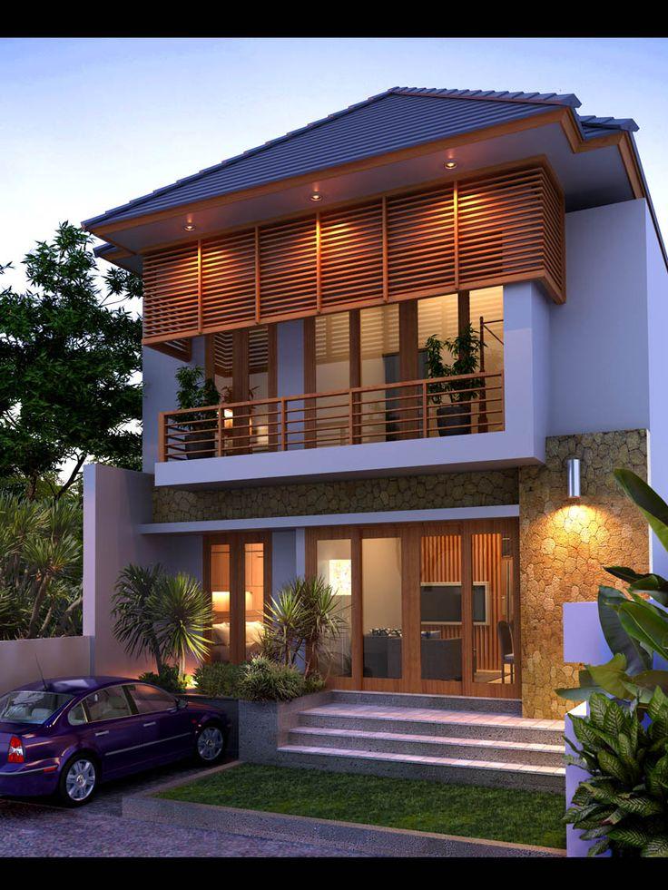Hasil gambar untuk desain rumah tingkat