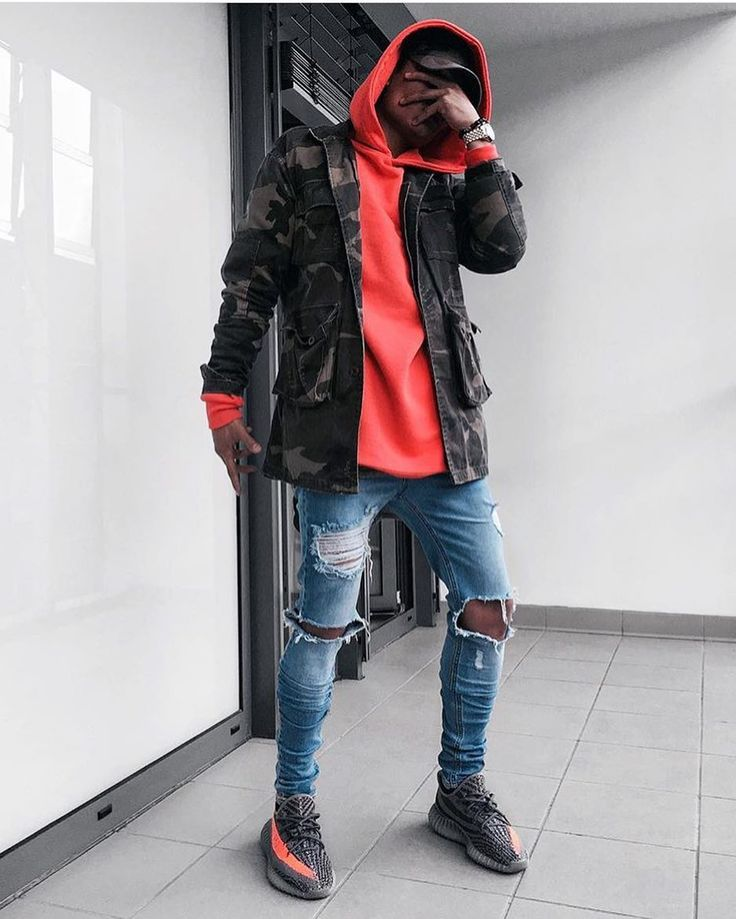 African Mens Street Fashion Hoodie