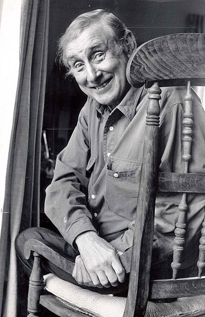 "Spike Milligan - one of the world's greatest comic geniuses: ""My father used to be a train driver. He got the sack for overtaking."""