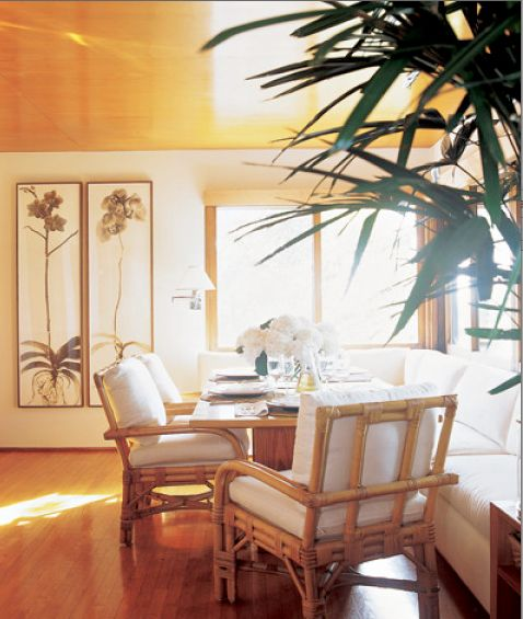 The Art of the Room - In Search of the Sublime in Design: Coastal Chic -- Ralph Lauren's Montauk beach house.  Elle Decor. Photos by Pieter Estersohn