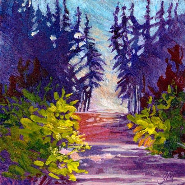 "Glenda Mosher ""Evening Path"""