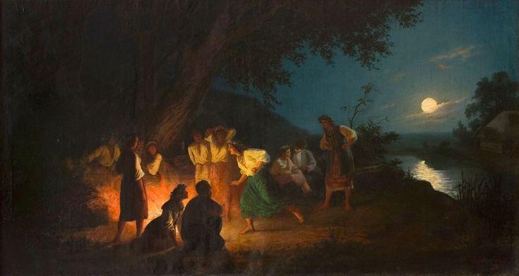 Henryk Siemiradzki, Noc Iwana Kupały (Noc Świętojańska)