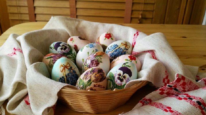 украшение пасхальных яиц по-новому