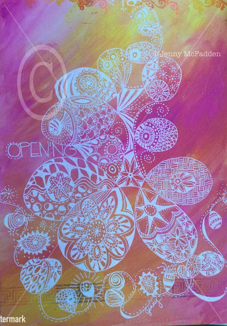 ZenDoodle by Jenny McFadden