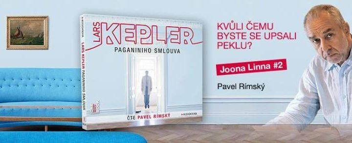Lars Kepler – Paganiniho smlouva (recenzia audioknihy)