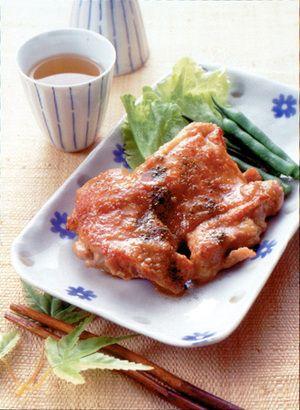 鶏肉のみそ照り焼き | 豊口裕子さんのレシピ【オレンジページnet】プロ ...